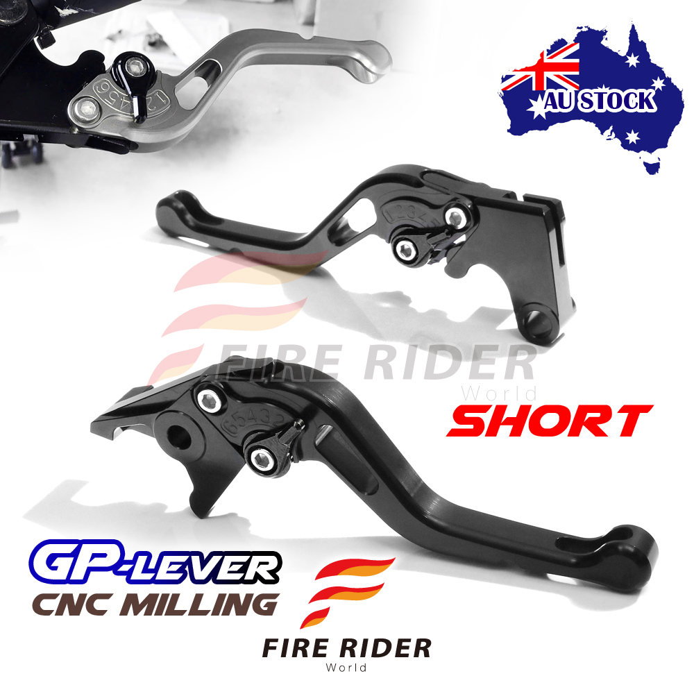 Fit Yamaha TMAX500 01-07 03 04 05 06 CNC SBB GP Short Front Rear Brake Levers