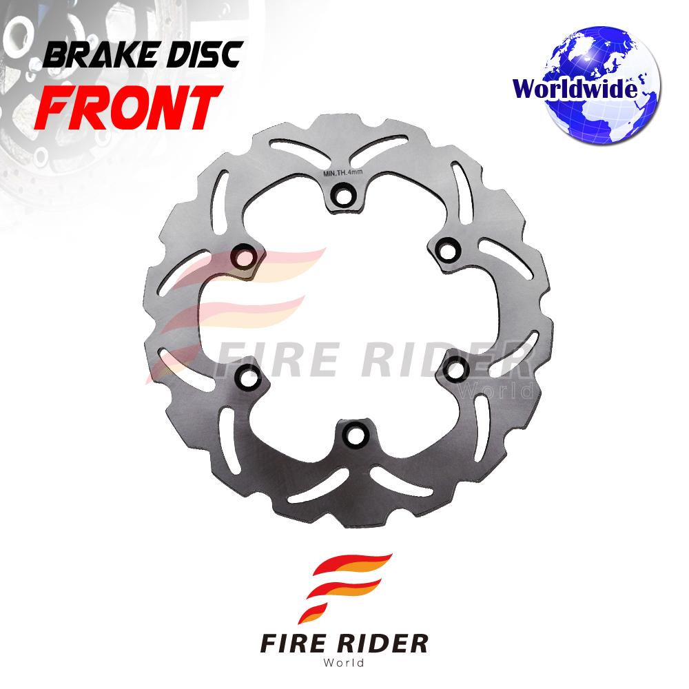 Frw 1x Front Brake Disc Rotor For Honda Cb 500 93 03 94 95