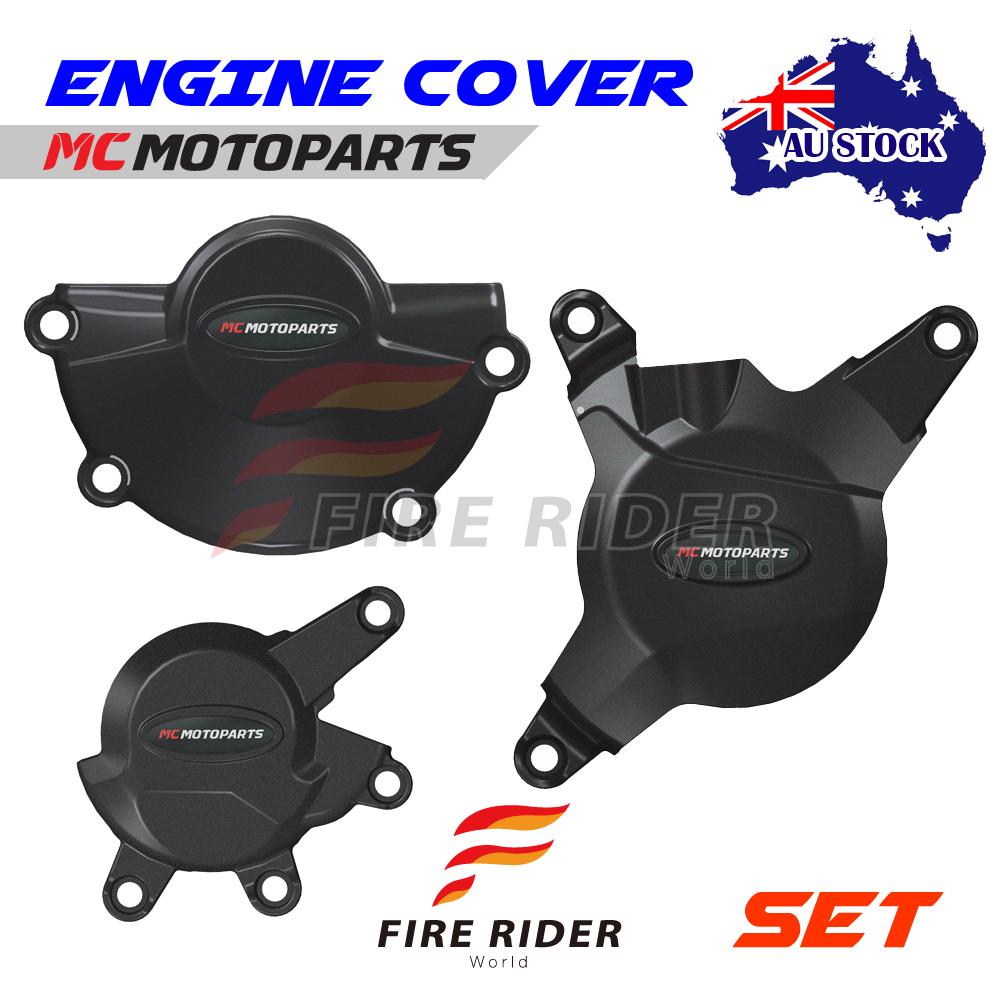 Black Engine Cover Protector For Honda Cbr600rr 07 08 09