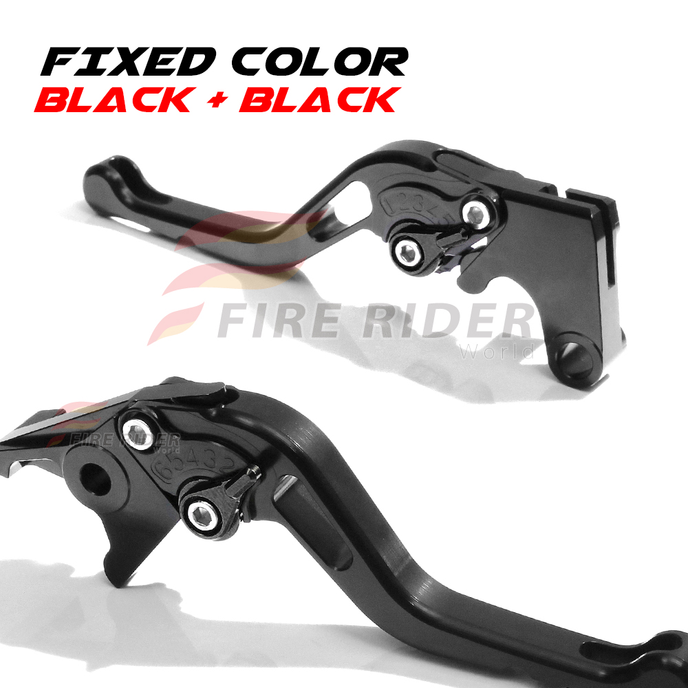 For Yamaha MT-03 16-17 Racing Short GP Black Clutch Brake Levers SBG