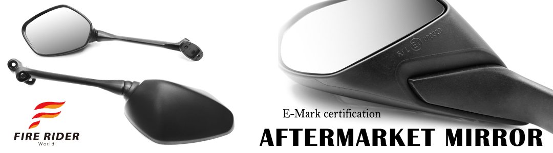 eMark Black Aftermarket Rear Side Mirrors For Kawasaki ZX-10R Ninja 04 05 06 07